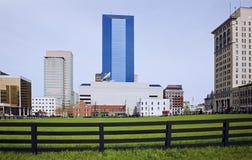 Lexington behind the fence stock photo