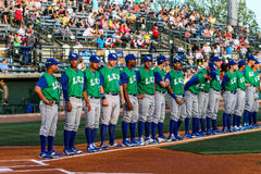 2015 Lexington Legends Royalty Free Stock Images
