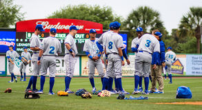 Lexington Legends stretch. Royalty Free Stock Image