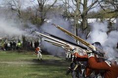 Patriot's Day Reenactment Royalty Free Stock Photo
