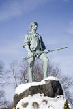 Lexington Minuteman Statue Stock Images