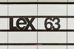 Lexington und 63. Straßen-U-Bahnstation Lizenzfreie Stockfotos