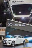 Lexus ÄR bilen 300h på expon 2016 för den Thailand Internationalmotorn Royaltyfri Bild