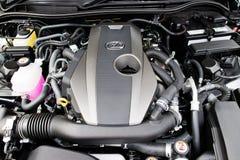 Lexus ÄR motorn 200t 2017 Royaltyfri Foto