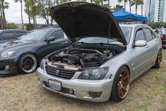 Lexus È 2001 su esposizione Fotografia Stock