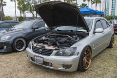 Lexus É 2001 na exposição Fotografia de Stock