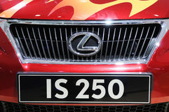 Lexus is 250 Royalty Free Stock Images