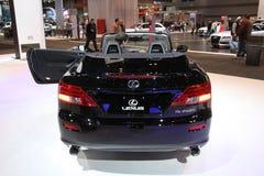 Lexus IS 250 C. Chicago auto show February 2011 Stock Photos