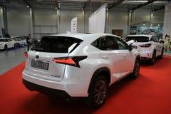 Lexus-Auto angezeigt an der 3. Ausgabe von MOTO-ZEIGUNG in Krakau Polen Stockfoto