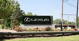 Lexus Automobiles. Lexus is the luxury division of Toyota Royalty Free Stock Images