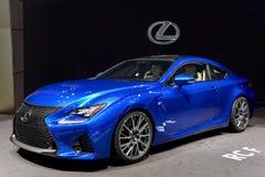 Lexus bij 2014 Genève Motorshow Royalty-vrije Stock Afbeeldingen