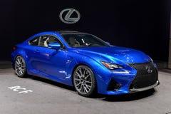 Lexus bij 2014 Genève Motorshow Stock Afbeeldingen