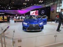 Lexus bij Internationale Auto van New York van 2015 toont Stock Foto's