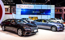 Lexus booth at The 36th Bangkok International Motor Show  Royalty Free Stock Images