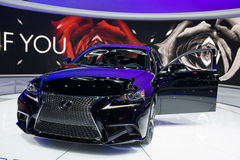Lexus at the Chicago Auto Show Royalty Free Stock Images
