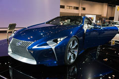 Lexus at the Chicago Auto Show Royalty Free Stock Photography