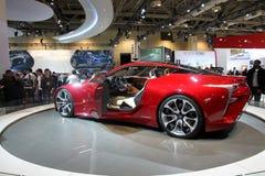 Lexus Concept CIAS 2013 Royaltyfria Foton