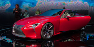 Lexus Concept LF-LC Fotografie Stock