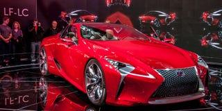 Lexus Concept LF-LC Immagine Stock Libera da Diritti