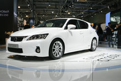 Lexus CT 200h Hybrid Royalty Free Stock Photos