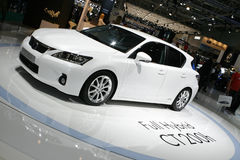 Lexus CT 200h Hybrid. At the Moscow International Automobile Salon (MIAS-2010) August 25 - September 5 Stock Photography