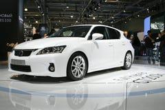 Lexus CT 200h Mischling lizenzfreie stockfotos