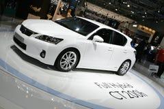 Lexus CT 200h Mischling stockfotografie