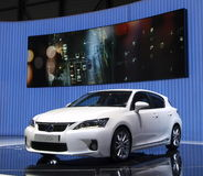 Lexus CT 200H Weltpremiere Stockfotos