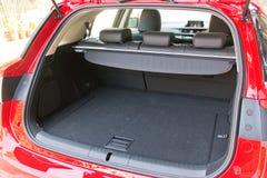 Lexus CT 200h bagażnik Zdjęcia Royalty Free