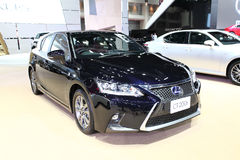 Lexus CT 200h car on display Royalty Free Stock Photography