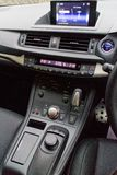 Lexus CT200h F-Sport dashboard on May 20 2014 in Hong Kong. Stock Photography