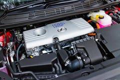 Lexus CT 200h Hybrid Car 2014 engine Royalty Free Stock Photography