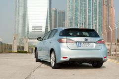 Lexus CT200h Hybrid Hatchback Royalty Free Stock Photo