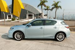 Lexus CT200h Hybrid Hatchback Stock Photo