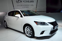LEXUS CT200H saloon car Royalty Free Stock Images