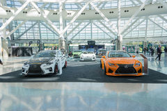 Lexus on display Royalty Free Stock Photo