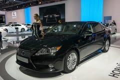 Lexus ES 350 -欧洲首放 免版税库存照片