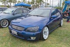 Lexus ES 2001 en la exhibición Foto de archivo libre de regalías