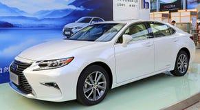 2015 Lexus es300h hybrid car Royalty Free Stock Image
