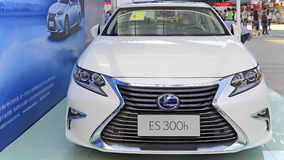 2015 Lexus es300h hybrid car Royalty Free Stock Photography