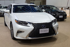 Lexus ES300h luxury sport sedan showed in Thailand the 37th Bang Royalty Free Stock Photos