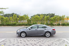 Lexus ES 300h Mid Level Sedan 2013 Model Stock Photography