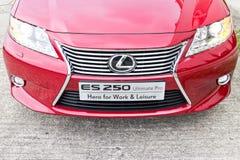Lexus ES 250 sedanu 2013 model Obraz Royalty Free