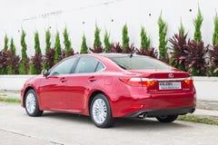 Lexus ES 250 sedanu 2013 model Fotografia Royalty Free