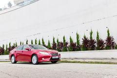Lexus ES 250 sedanu 2013 model Obraz Royalty Free