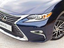 Lexus ES 250 2015 testów Prowadnikowy dzień Obrazy Stock