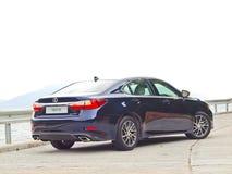 Lexus ES 250 2015 testów Prowadnikowy dzień Obrazy Royalty Free
