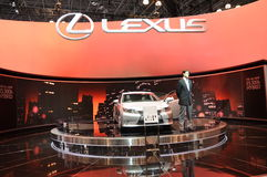 Lexus ES300h Hybrid Stock Image