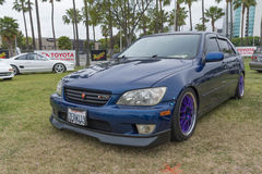 Lexus EST 2001 sur l'affichage Photos libres de droits