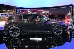 Lexus fünf Mittellinienprojekt CT Lizenzfreie Stockfotos